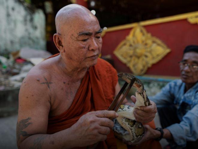 Buddhist monk Wilatha