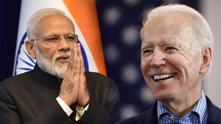 Narendra Medi and Joe Biden