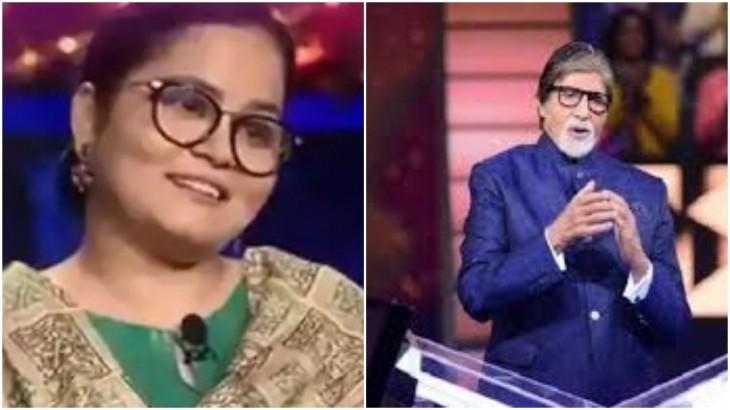 Nazia Naseem and Amitabh Bachchan