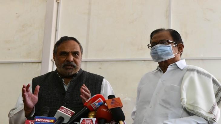 Anand Sharma P Chidambaram
