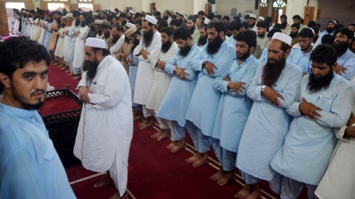 Hafiz Saeed Prayers